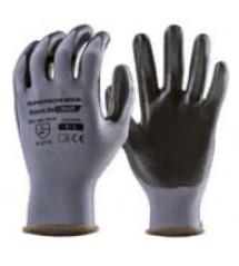 Coverguard guanto di precisione nero spalmato grigio 1NIBB